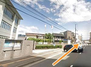 エルトピア奈良前通過