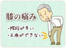 膝の痛み・膝痛